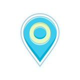 Map location pin Stock Image