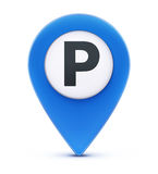 Map location pointer Royalty Free Stock Image