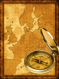 Map of modern Europe Royalty Free Stock Images