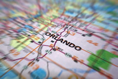 Map Movement Royalty Free Stock Photos