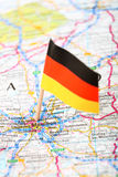 Map of Munchen Royalty Free Stock Photos