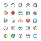 Map and Navigation Cool Vector Icons 3 Royalty Free Stock Photo