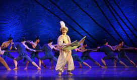 """A map and navigation-Dance drama """"The Dream of Maritime Silk Road"""" Stock Images"""