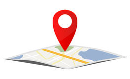 Map Navigation Royalty Free Stock Images