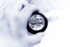 Map of New York Stock Photos