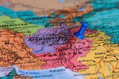 Map of Pakistan Stock Images
