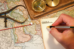 Map Pin Stock Image