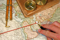 Map Pin Royalty Free Stock Photography