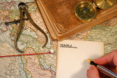 Map Pin Stock Photo
