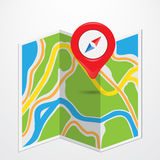 Map Royalty Free Stock Photos