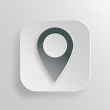 Map pointer icon Stock Image