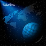 Map sky globe Royalty Free Stock Photo