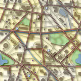 Map square Stock Photos