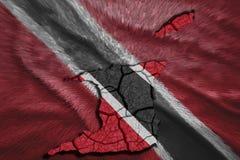 Trinidad and Tobago Map Royalty Free Stock Photography