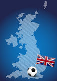 Map of UK Royalty Free Stock Images
