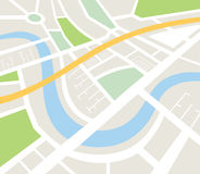 Map of urban infrastructure vector Stock Photos