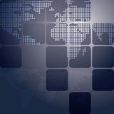 Map Vector Background Royalty Free Stock Images