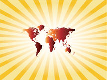 Map world Royalty Free Stock Images