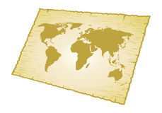 Map world Royalty Free Stock Photo
