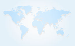 Map of the world Stock Photos