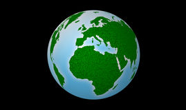 Map of the world. Circles design for all Royalty Free Stock Image