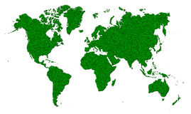 Map of the World. Map of the design concept for all Stock Photos