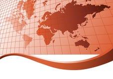 Map of world. Vector illustration Royalty Free Stock Photo