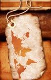 map world Стоковая Фотография