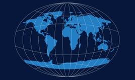 map world Στοκ εικόνα με δικαίωμα ελεύθερης χρήσης