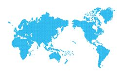 A Map Of The World Stock Images