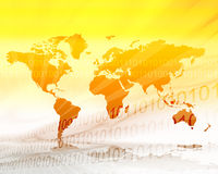 Map World Stock Image
