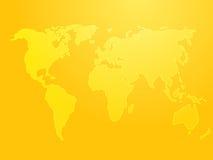 Map of the world illustration Stock Photo