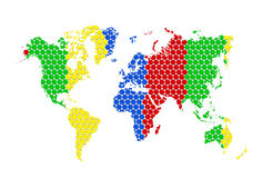 MAP of the WORLD Stock Images