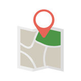 map world travel pin location Stock Images
