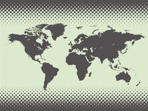 Map of world. Vector illustration Stock Images