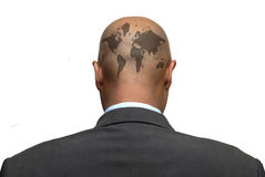 Map in your head Royalty Free Stock Photos
