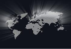 map1光亮的世界 库存图片
