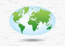 map2 κόσμος διανυσματική απεικόνιση