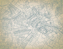 Mapa áspero Foto de Stock Royalty Free