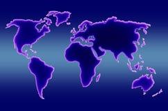 mapa świata ilustracji