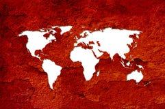 mapa świata Zdjęcie Royalty Free