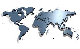 mapa świata royalty ilustracja
