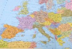 mapa Obrazy Royalty Free