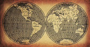 Mapa Fotografia de Stock Royalty Free