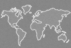 Mapa Imagens de Stock Royalty Free