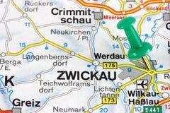 Mapa imagem de stock