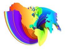 Mapa. Fotografia de Stock Royalty Free