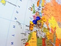 mapa Foto de Stock