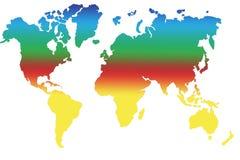 mapa Obraz Royalty Free
