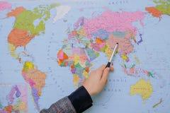 mapa Zdjęcie Royalty Free